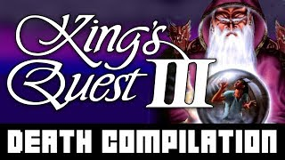 [Kings Quest III] DEATH COMPILATION