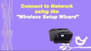 HP Officejet Pro 8720 | 8730 | 6960 | 6975 Printer : Connect to Network using Wireless Setup Wizard