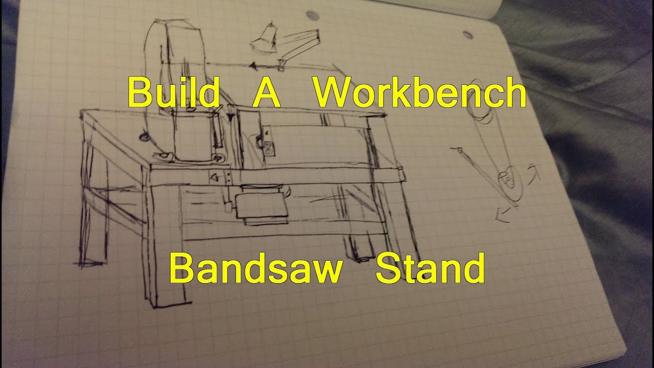Benchtop Band Saw Stand Plans