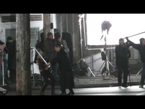 Once Upon A Time shoots season 6 finale scene with great sword fight