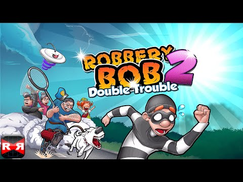 Robbery Bob 2: Double Trouble (Lvl. 1-10) - iOS / Android - Gameplay Video Part 1
