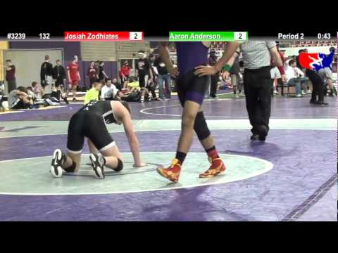 FSN 132: Josiah Zodhiates (The Covenant School) vs. Aaron Anderson (Team Valley)