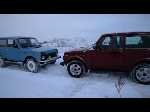 Чем отличается старая советская Нива от современного автомобиля? Ладная механика. LADA 4x4