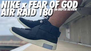 NIKE x FEAR OF GOD AIR RAID BLACK! UNBOXING & REVIEW!