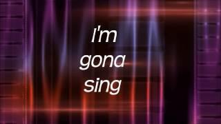 Sing To You lyric vid   Mellow Dee