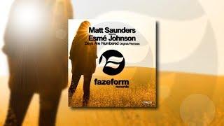 Matt Saunders featuring Esmé Johnson - Days Are Numbered (Original Mix)