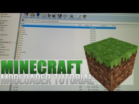 ★ Minecraft Mods 1.6.2 Minecraft Modloader Installation 1.5.x 1.4.7 German