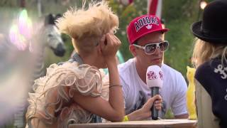 NERVO interview Like Mike & Dimitri Vegas at Tomorrowland 2012