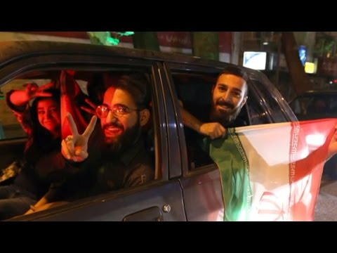 Selfies And Joy In Iran Over Nuclear Deal