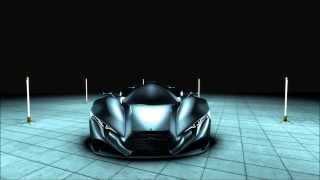 Mercedes SL GTR Concept Car by Mark Hostler - Modern Industrial Design