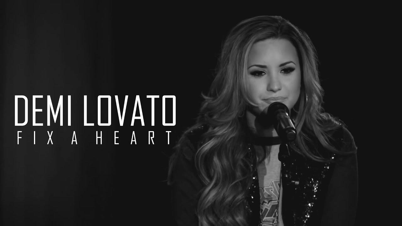 Demi Lovato Fix Heart Official Video Youtube