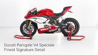 High End Detailing Ducati Panigale V4 Speciale Finest Signature Detail