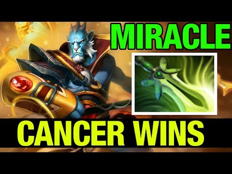 Miracle- Phantom Lancer VS Insane Ganks In Mid-lane - Dota 2