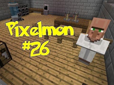 Minecraft: Pixelmon - Episode 26 - Professor Spruce!! (Pokemon Mod)