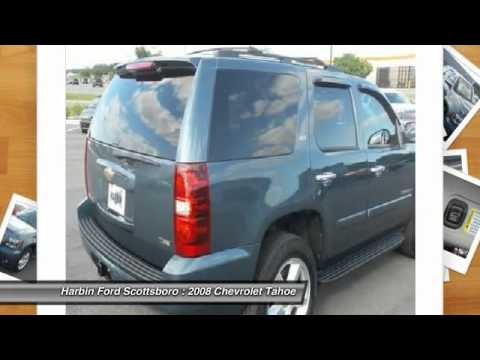 2008 Chevrolet Tahoe Scottsboro AL 7T016H