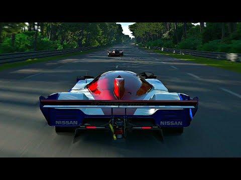 Gran Turismo Sport - Gameplay Nissan R92CP @ Le Mans [1080p 60fps]