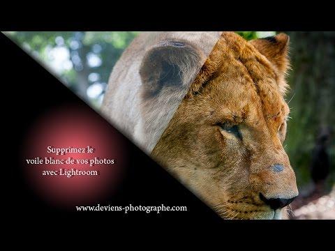 Supprimez le voile blanc de vos photos