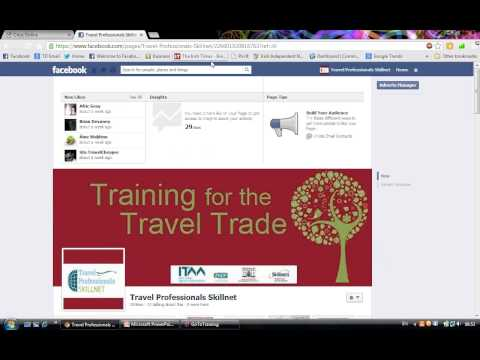 Travel Professionals Skillnet - Facebook Marketing for the Travel Industry - Module 1