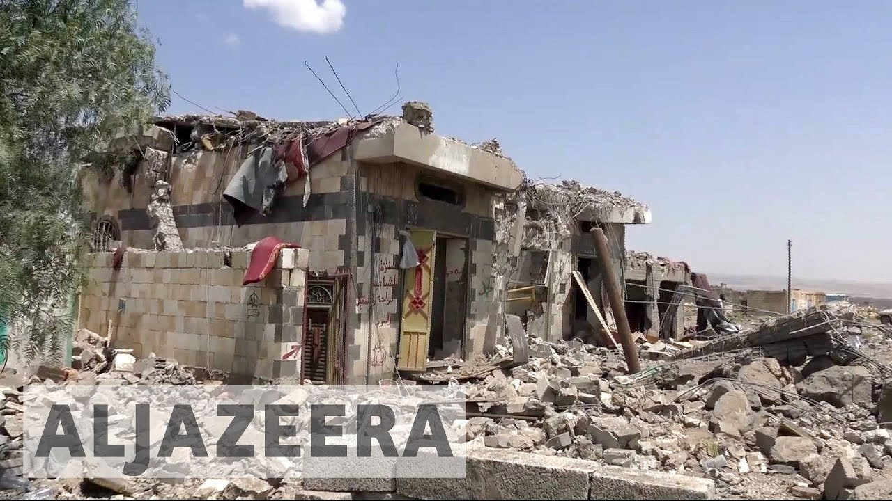 Air strikes by Saudi-led coalition in Yemen kill more than 40