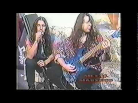 Savatage - Metal Masters Interview, Sleep (Live)