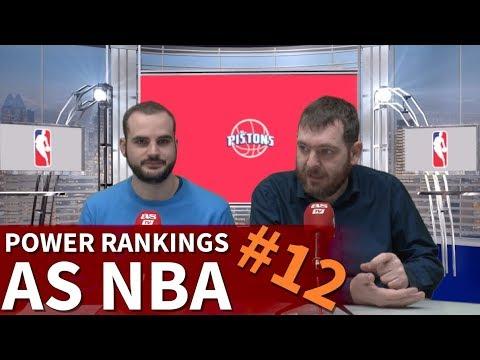 Power Rankings Nba Diario Youtube