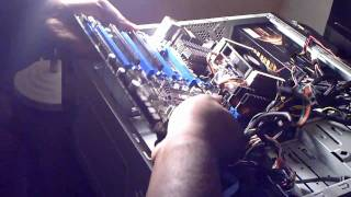 Building an AMD Phenom II 965 gaming pc step by step. 2011 (crossfireX.)