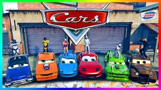 GTA ONLINE 'PIXAR: CARS MOVIE' SPECIAL - LIGHTNING MCQUEEN RACECAR, CARS 3 MOVIE VEHICLES & MORE!