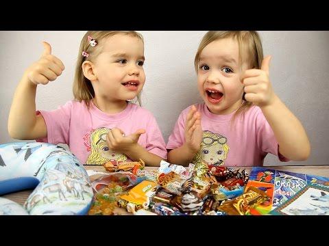 ПОДАРКИ на Новый год от подписчиков с Севера!  Видео для детей.