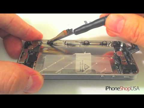 iPhone 4 Front Glass Digitizer Replacement Repair HD Tutorial DIY Complete How To Fix