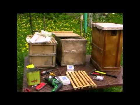 Ловушка для пчел своими