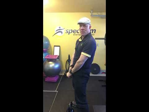 Spectrum Therapy and Fitness- KB  Swinging Instructions- Your CoVid19,  exercise tutorial.