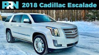 Undisputed SUV Champion   2018 Cadillac Escalade Platinum   TestDrive Spotlight