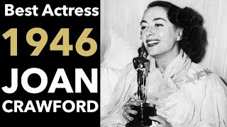 Joan Crawford Wins Best Actress For Mildred Pierce | 1946