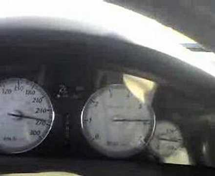 300c SRT8 going 305KPH