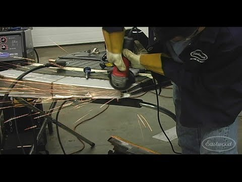 Rust Repair Panel How To - Patch Panel Kit Repairing Project Pilehouse Dodge Truck Door at Eastwood