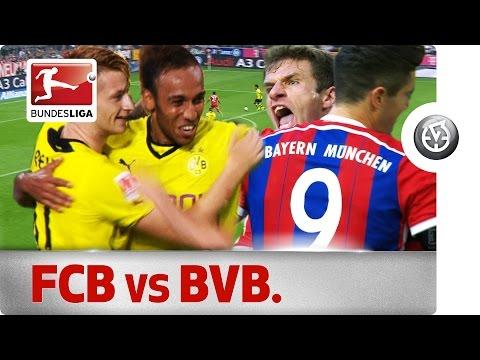 Der Klassiker - All Goals This Decade in Bayern vs. Dortmund