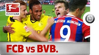 Der Klassiker - All Goals This Decade in Bayern vs. Dortmund
