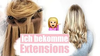 Extensions Vlog - Haarverlängerung ! TAPE IN EXTENSIONS - Vor & Nachteile // Isabell Giese