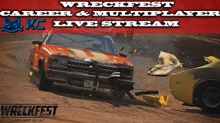 Gaming :Wreckfest (PC) 🚗 Career & Multiplayer (Live Stream🔴 14/10/2018)