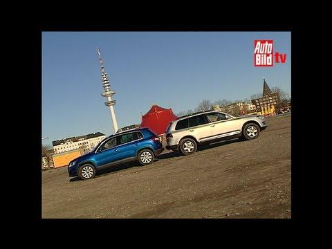 Tiguan vs. Touareg - VW-SUV-Vergleich