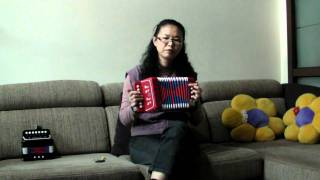 玩具手風琴 Toy Accordion ~Beautiful Sunday
