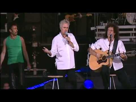 Queen & Paul Rodgers - Imagine (London, Hyde Park 2005)