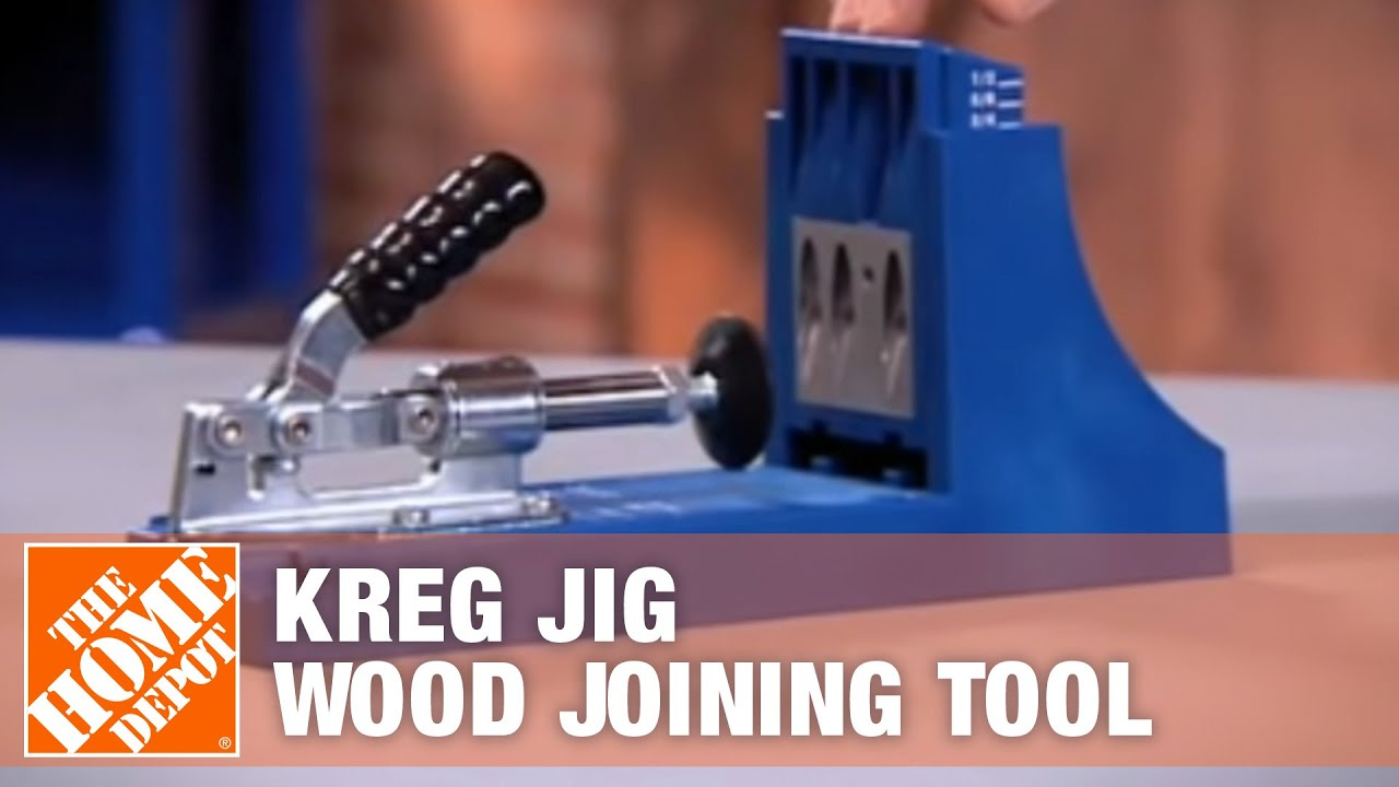 Kreg Jig Wood Joining Tool Youtube