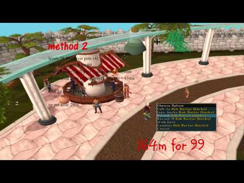 1-99 CHEAP herblore guide 2014 – 100m for 99