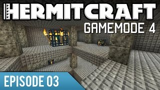 Hermitcraft Gamemode 4 | 03 | Underground Dungeon | Minecraft Let's Play