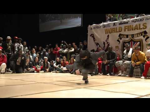 UK BBoy Champs 2012 - GREENTECK vs GATOR (Popping Semi Final)