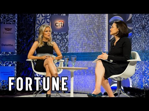 Sheryl Sandberg and Fox News Anchor Megyn Kelly discuss tech | Full Interview Fortune MPW