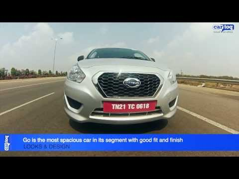 Datsun Go first drive video review by CarToq.com