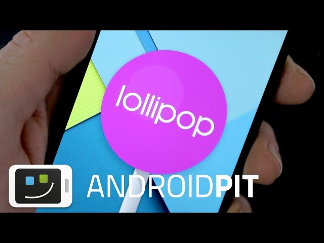 Android 5.0 Lollipop updated on the Nexus 5!