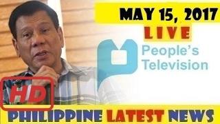 "PTV NEWS ""LIVE"" (MAY 15, 2017) BALITA ""OFW CHANNEL"""